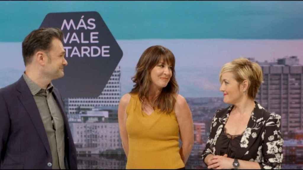 Cristina Pardo e Iñaki López presentarán 'Más vale tarde' a partir de la próxima temporada.