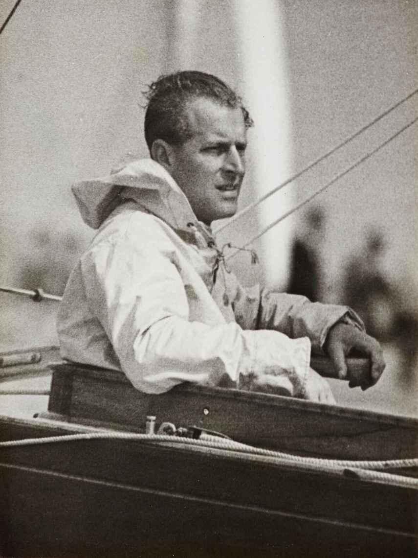 El duque de Edimburgo ejerció de marinero en su juventud.
