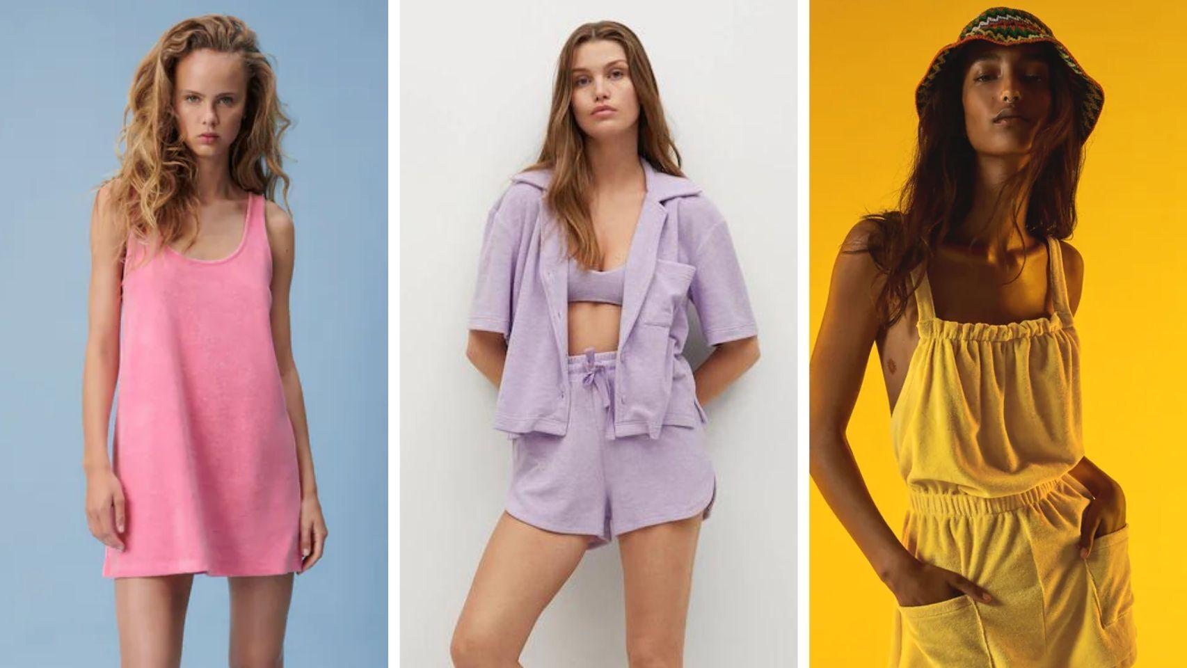 Efecto toalla: la moda que cohesiona las colecciones de Mango y Zara.