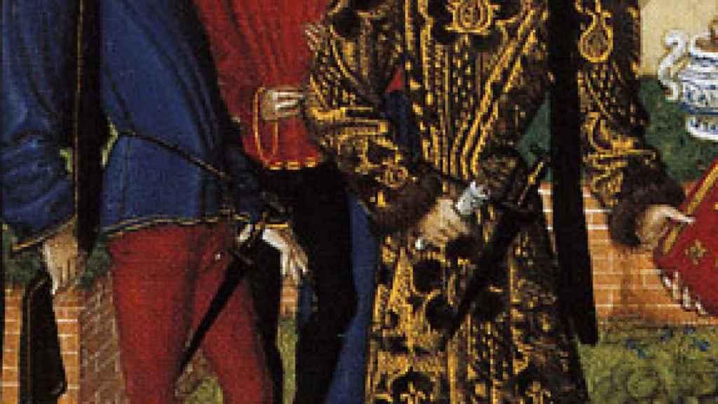 Poulaines o crakows, muy habituales en la Baja Edad Media.