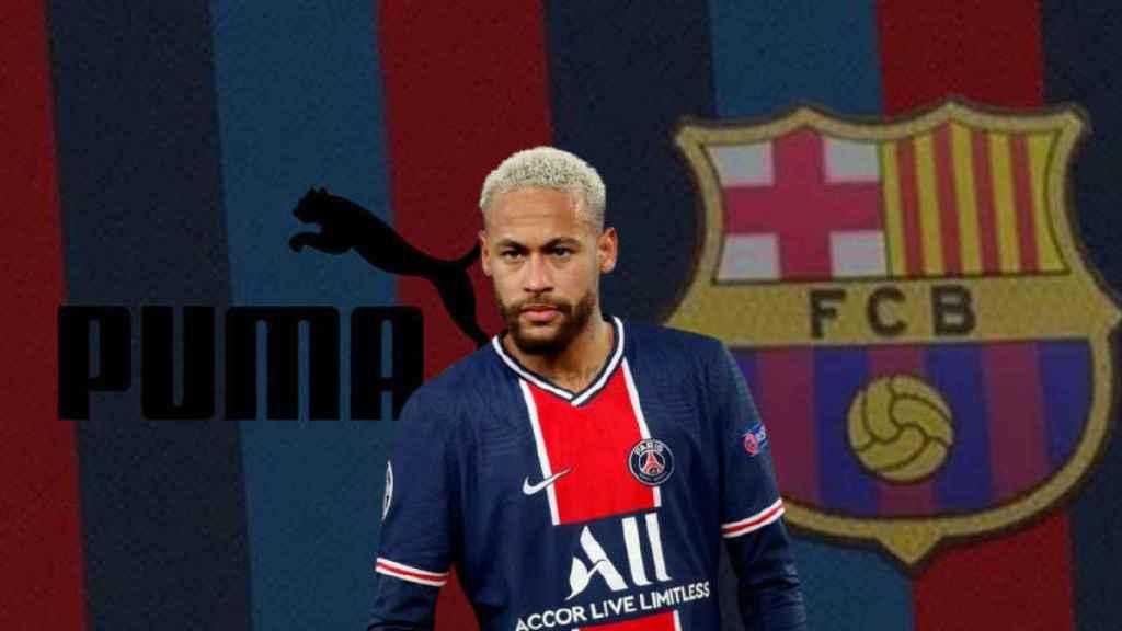 Puma asalta el mercado: fichaje de Neymar, acuerdo en Fórmula 1 y un sueño con el Barça