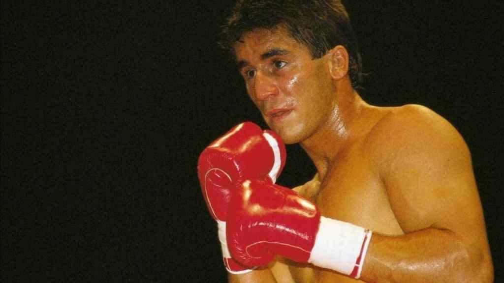Poli Díaz, durante un combate
