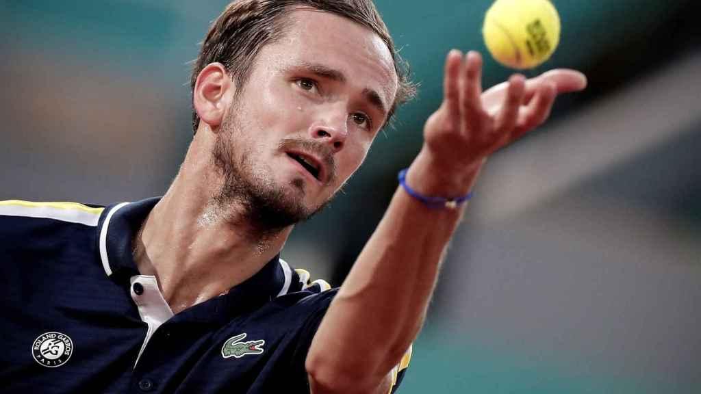Medvedev, durante Roland Garros