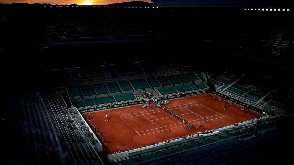 Pista de Roland Garros