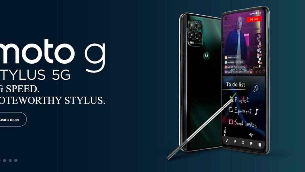 Nuevo Moto G Stylus 5G: el Motorola con stylus ahora con 5G