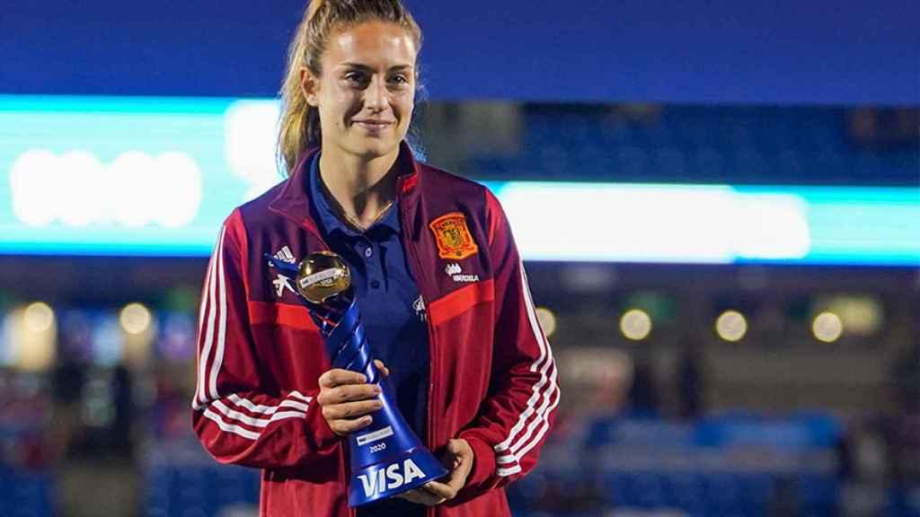 Alexia Putellas, MVP de la SheBelieves Cup