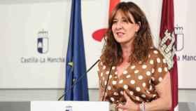 Blanca Fernández, portavoz del Gobierno de Castilla-La Mancha (Foto: Ó. HUERTAS)
