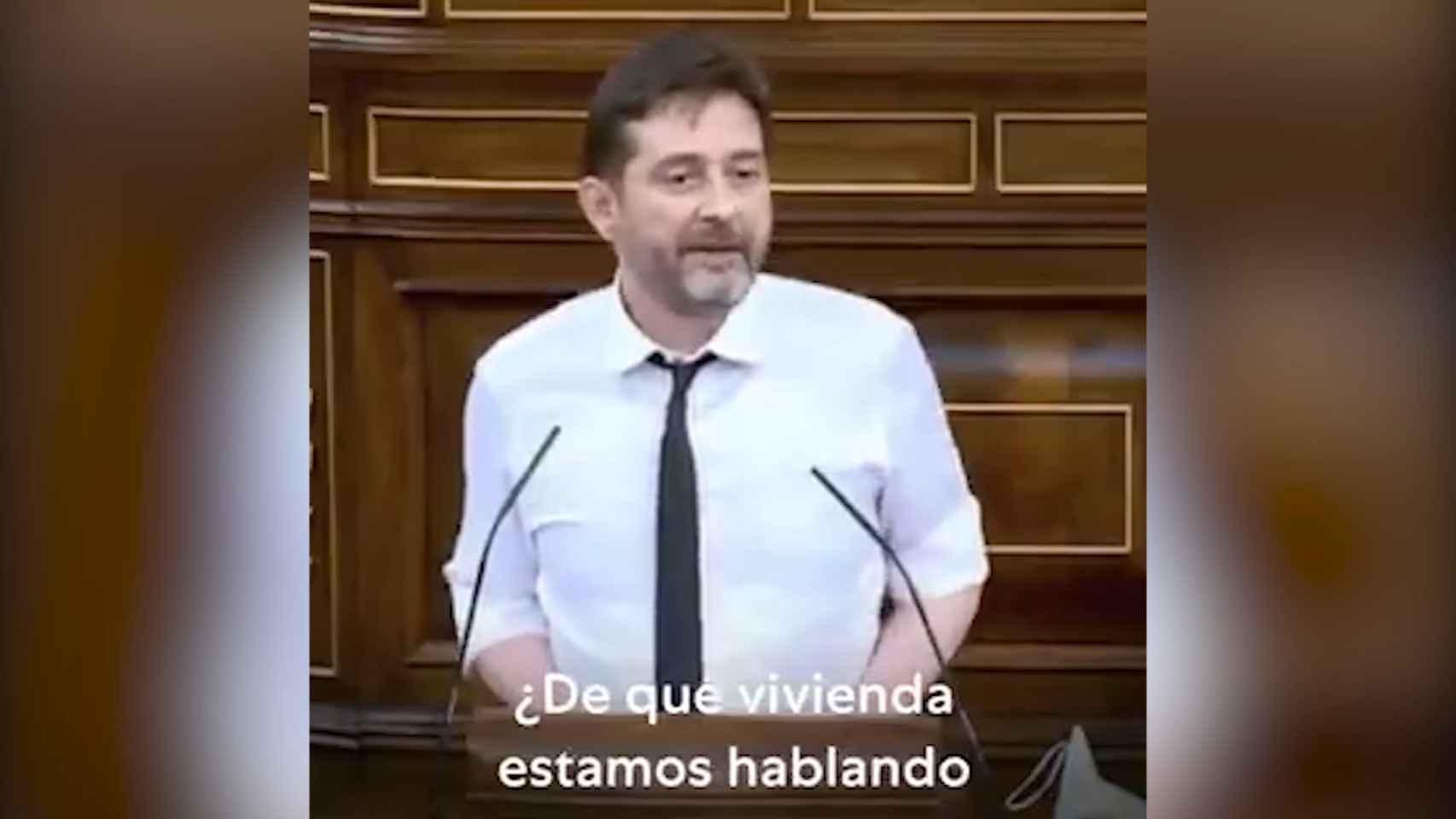 Rafa Mayoral llama impresentable al gobernador del Bando de España