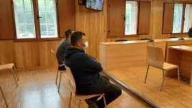 Los acusados durante el juicio celebrado este miércoles en la Audiencia Provincial de Lugo.