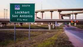 Tramo de la autopista South-130 en Texas.