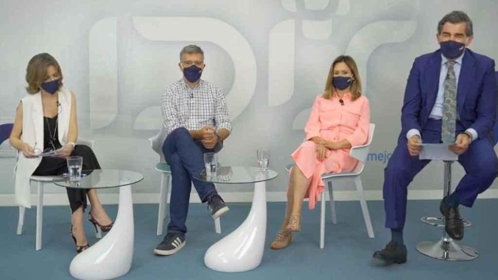 Marta Villanueva, Julián Isla, Carina Escobar y Juan Abarca.