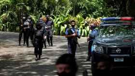 La operación policial en Nicaragua.