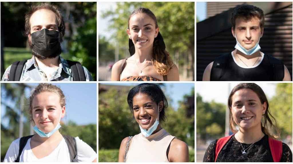 EL ESPAÑOL acude a Ciudad Universitaria para saber qué piensan los jóvenes.