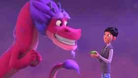 Long y Din, los protagonistas de 'El dragón de los deseos'