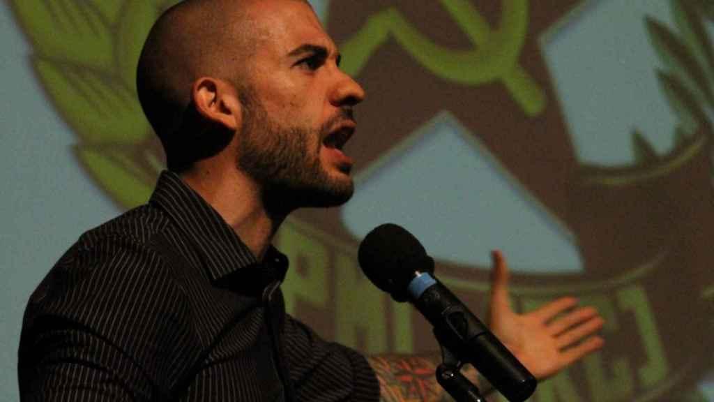 El secretario general de Reconstrucción Comunista, Roberto Vaquero.