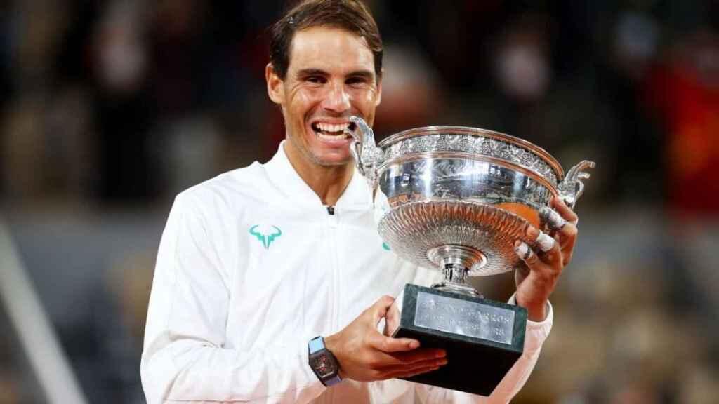 Rafa Nadal contó con la IA de Olocip en su victoria de Roland Garros 2020.