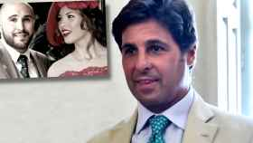 Fran Rivera, junto a Kiko y Jessica Bueno, en un montaje de Jaleos.
