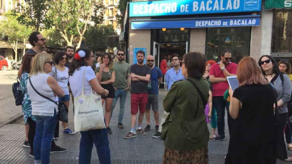 Imagen tomada en el barrio madrileño de San Isidro.