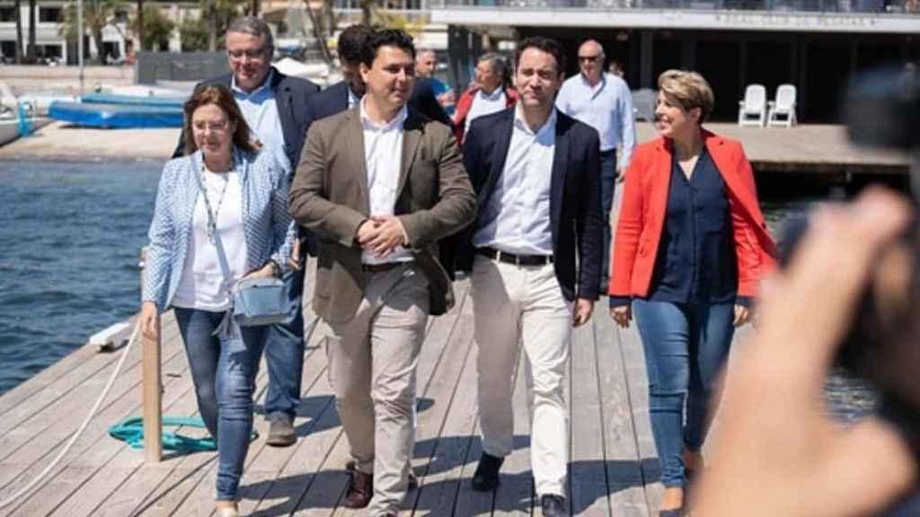 La futura nueva alcaldesa de Cartagena, Noelia Arroyo (1d).