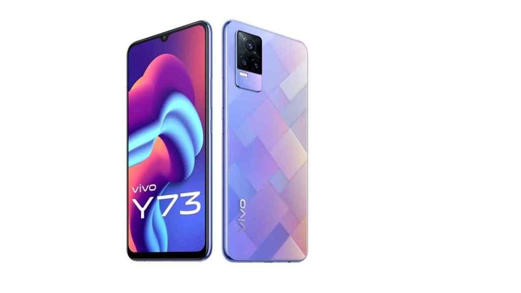 Vivo Y73 diseño