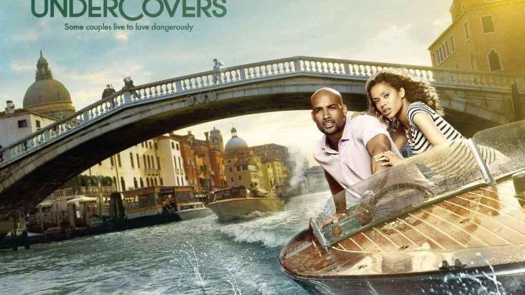 Poster promocional de 'Undercovers'.