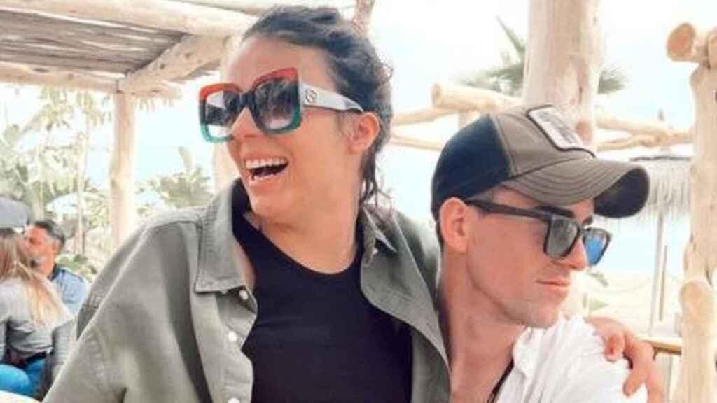 Zayra Gutiérrez y Miki en una imagen de sus redes sociales.