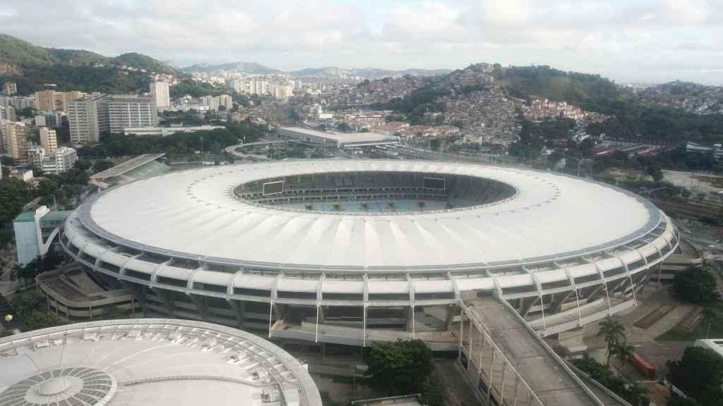 Estadio de Maracaná en Brasil