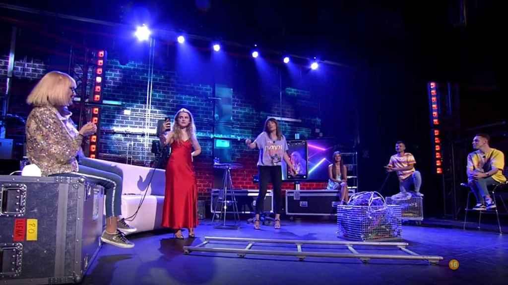 Nagore Robles presenta 'Sobreviviré After Show' en Mitele PLUS.