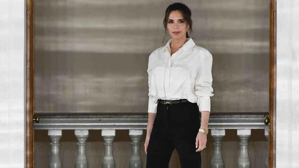 Victoria Beckham, durante la London Fashion Week 2020.