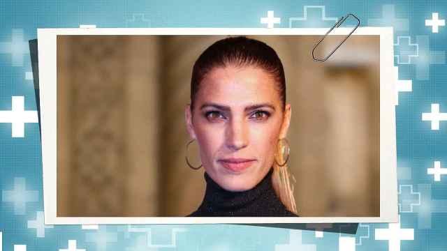 Laura Sánchez, en un fotomontaje de JALEOS.