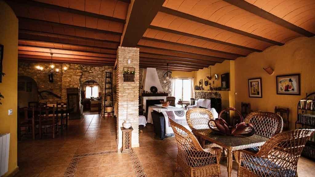 El espacio interior de Antigua Casa Rufo.