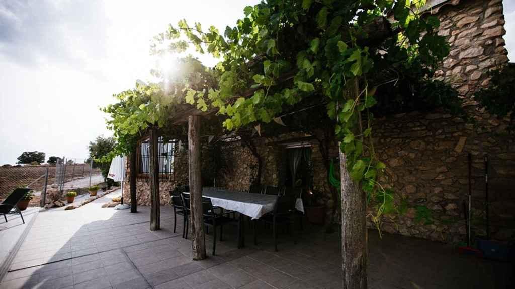 Terraza de Antigua Casa Rufo.