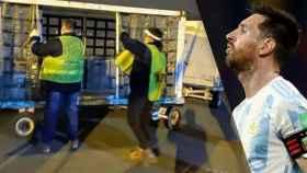 Respiradores varados en un aeropuerto argentino