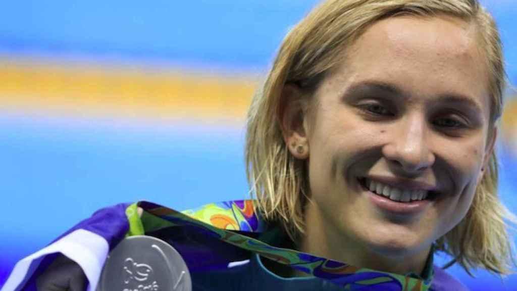 Madeline Groves, nadadora de Australia