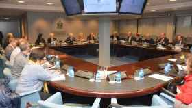 Reunión del Pleno del Consejo General de Enfermería. Imagen de archivo.