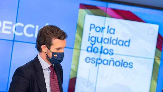 Pablo Casado, en una imagen de archivo.