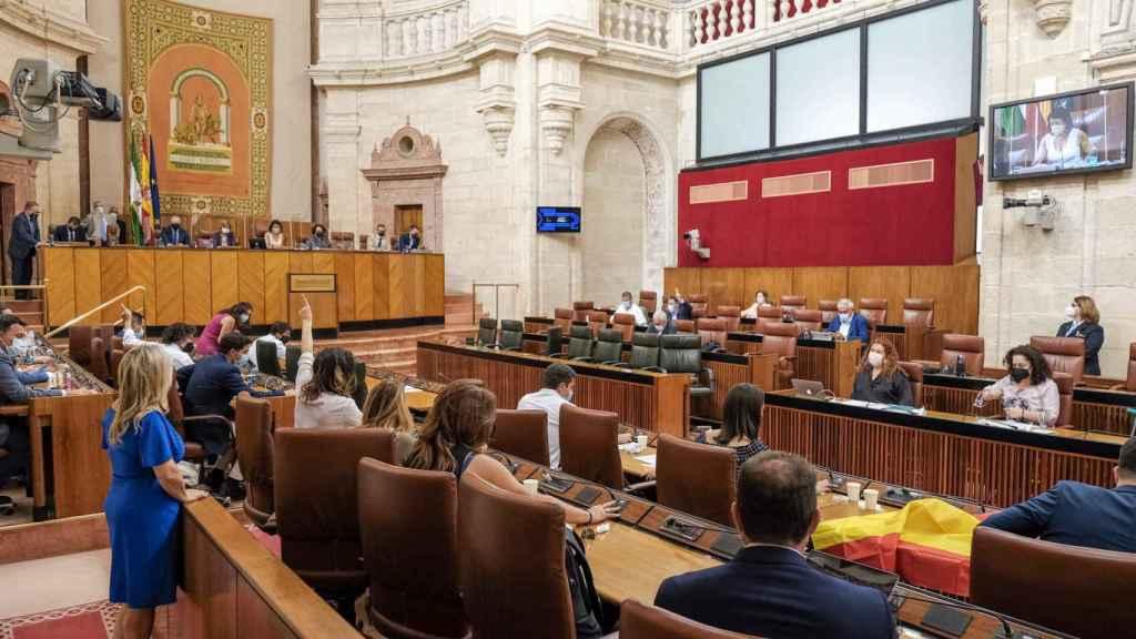 El Parlamento andaluz rechaza los indultos a presos del 'procés'.