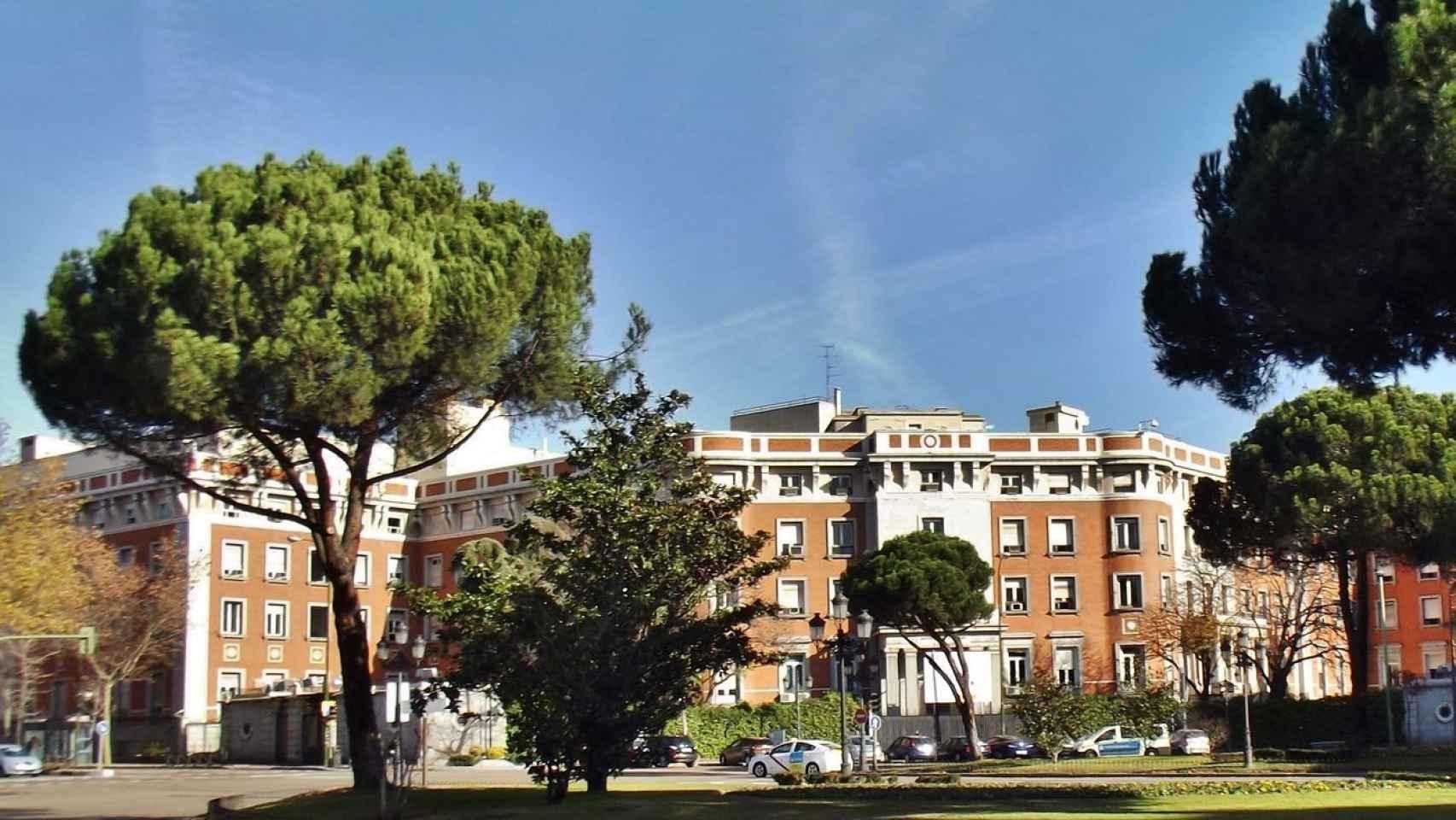 Vista de la fachada de la nueva sede del Ministerio de Asuntos Exteriores.