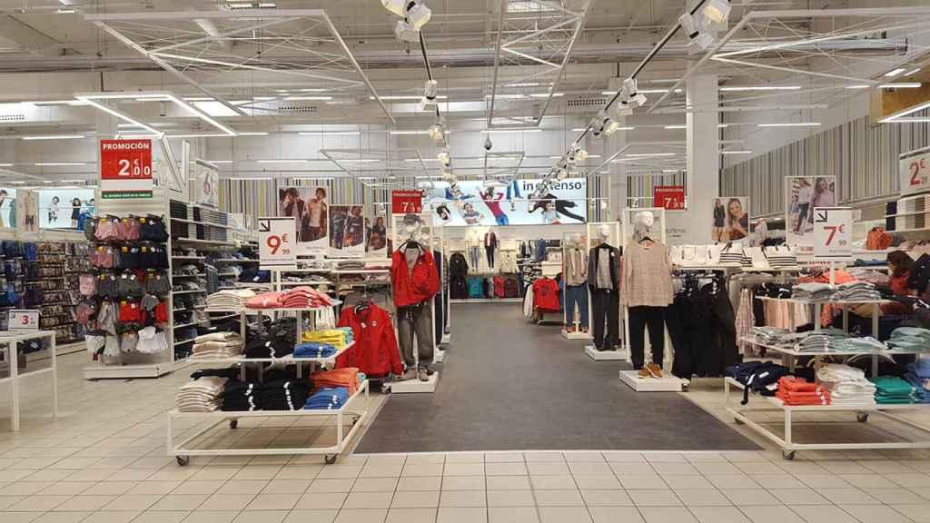 Imagen de una tienda de ropa.