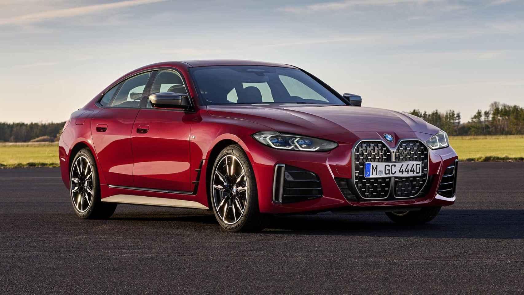BMW Serie 4 Gran Coupé: nuevo rival para el Audi A5 Sportback y Mercedes CLA Coupé