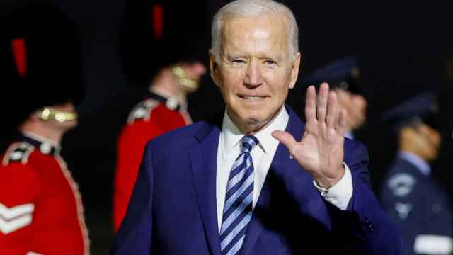 Joe Biden en Reino Unido.