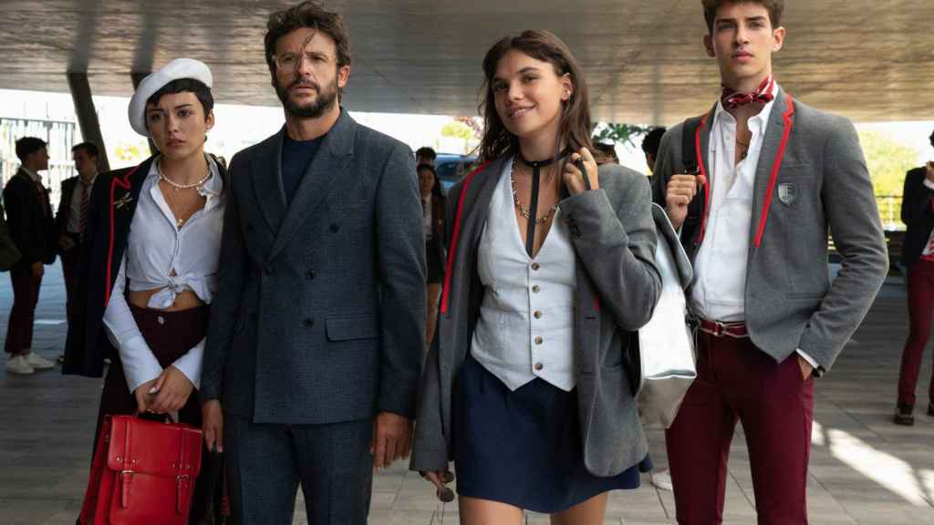 Diego Martín y su familia en la ficción.