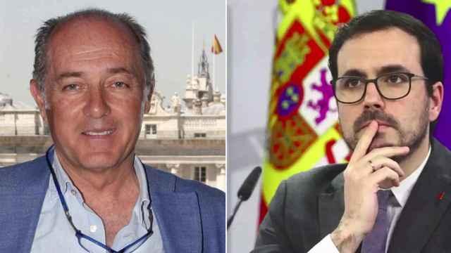 Soto y Garzón en un fotomontaje.