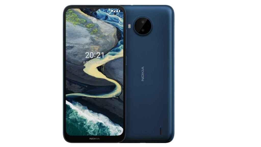 Nokia C20 Plus diseño