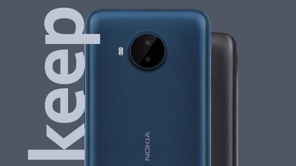 Nokia C20 Plus camaras