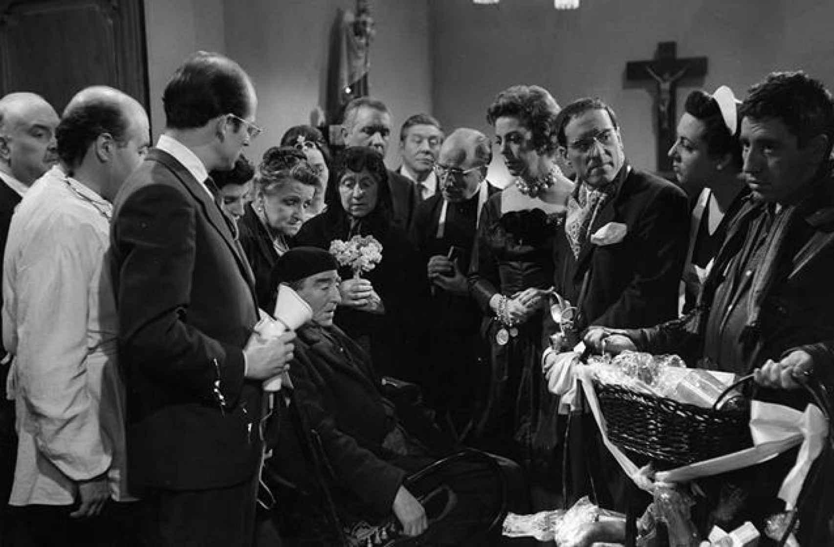 Escena del filme 'Plácido'.