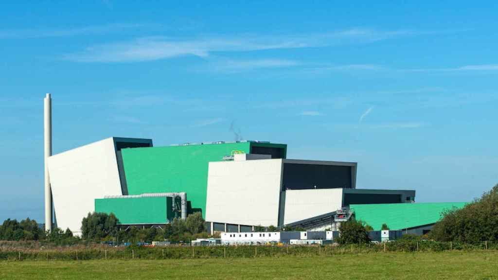 Planta de valorización energética de Urbaser en Gloucestershire (Reino Unido).