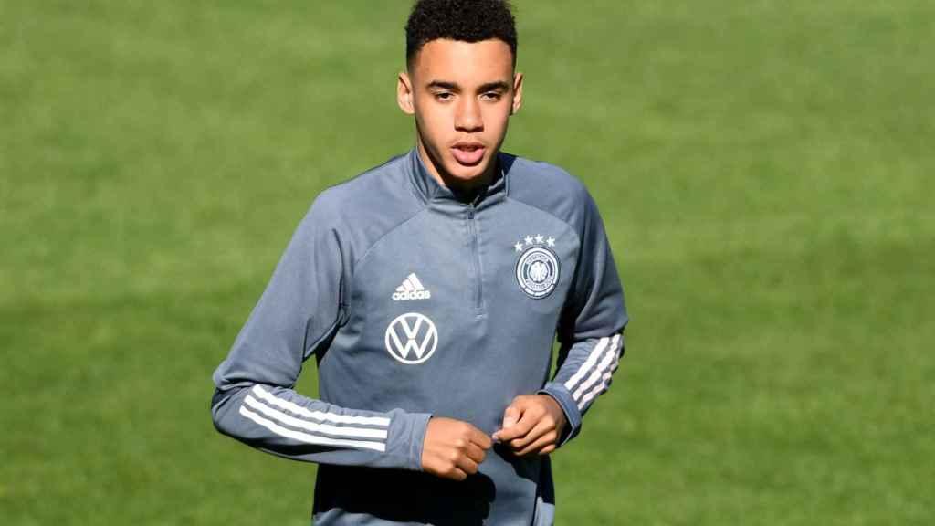 Jamal Musiala, con Alemania