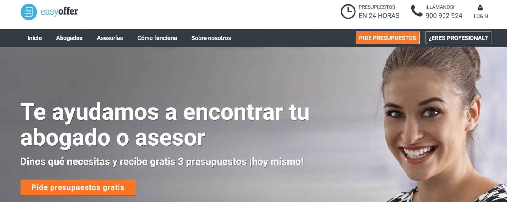 Página web de Eassyofer.