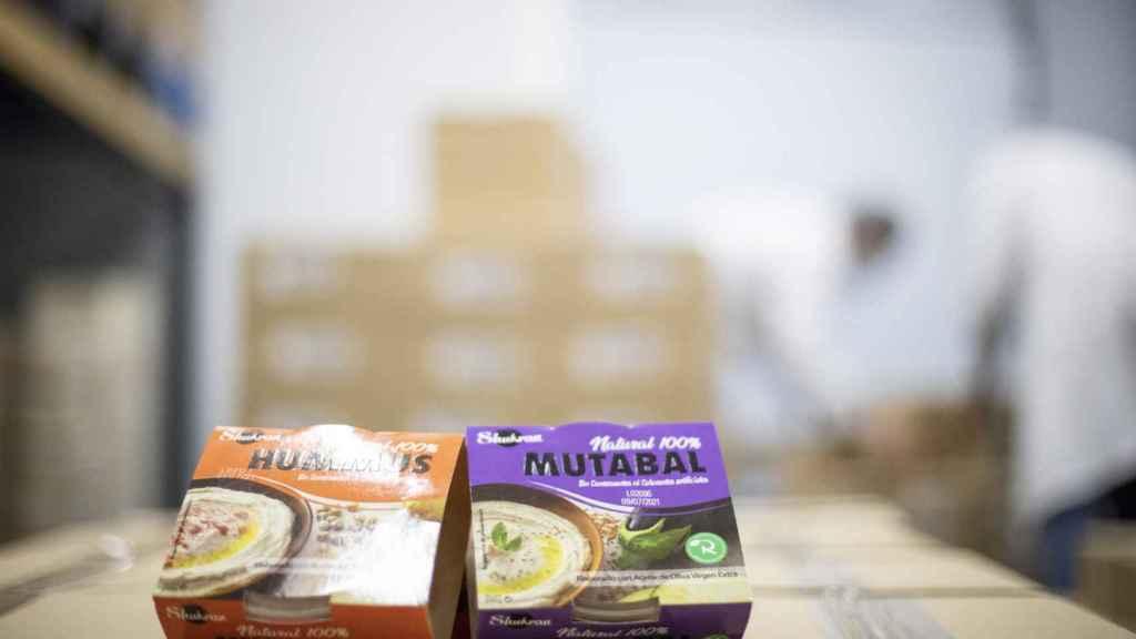Caja del hummus y la mutaba realfooding.